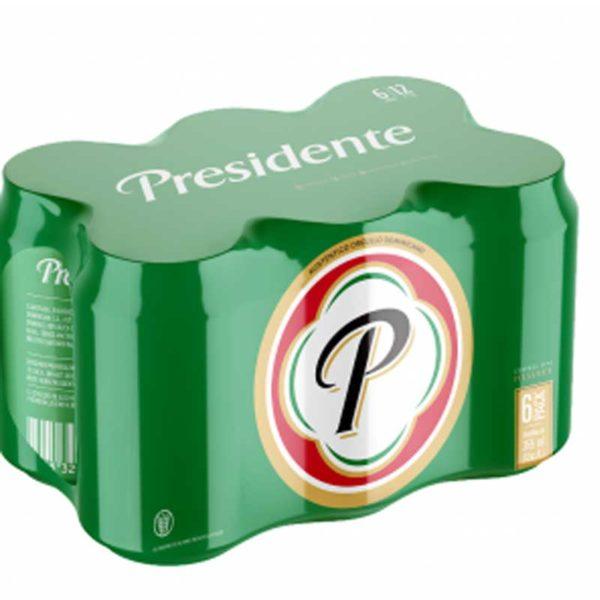 Cerveza Presidente Lata, 12 oz