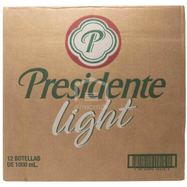 Cerveza Presidente Light Jumbo, 33 oz Caja (12 uds)