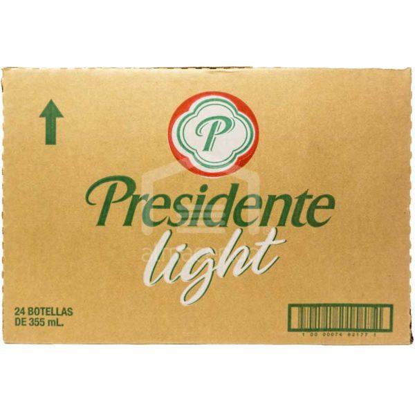 Cerveza Presidente Light, 12 oz