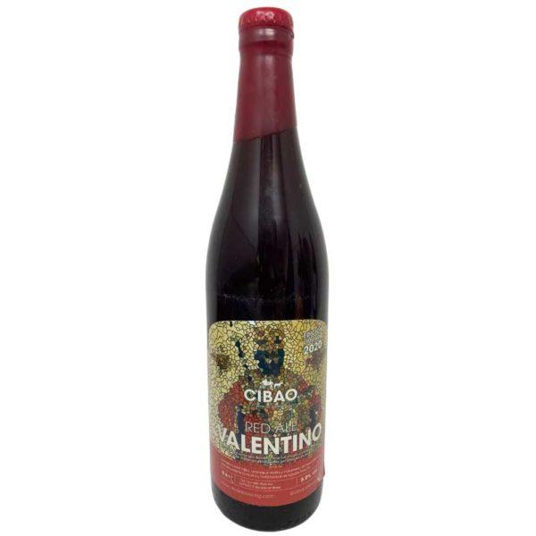 Cerveza Red Ale Valentino Cibao Brewing, 600 ml