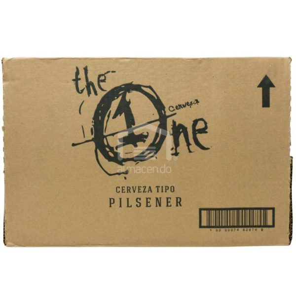 Cerveza The One, 22 oz Huacal (16 uds)