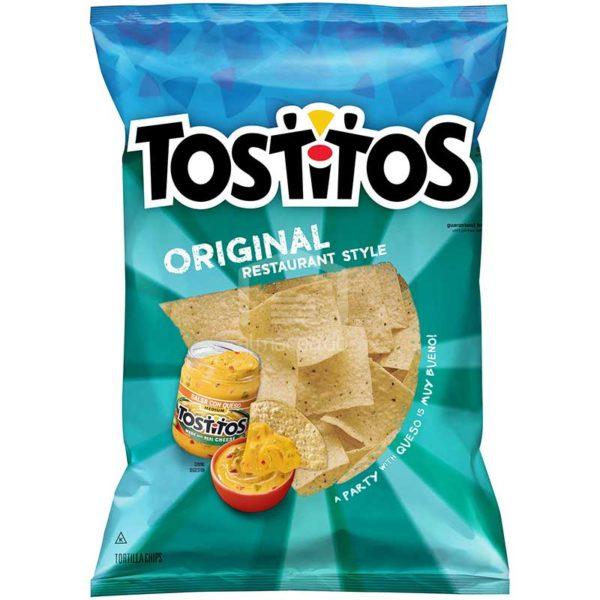 Chips Tostitos Original Restaurant Style, 10 oz