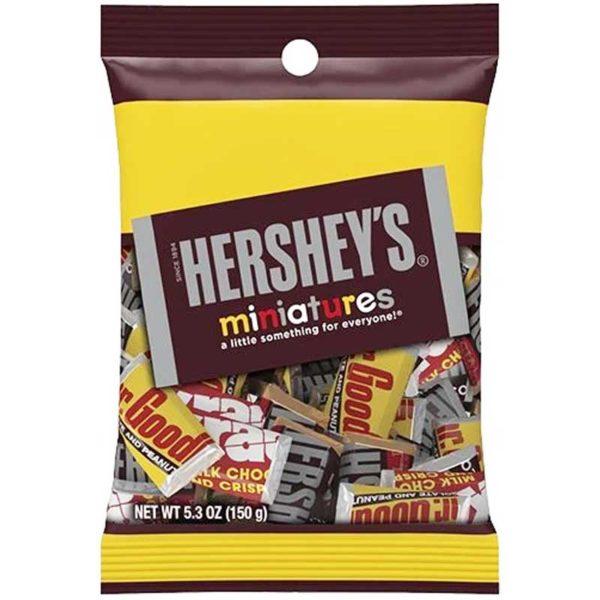 Chocolate Hershey's Miniaturas Surtido, 5.3 oz