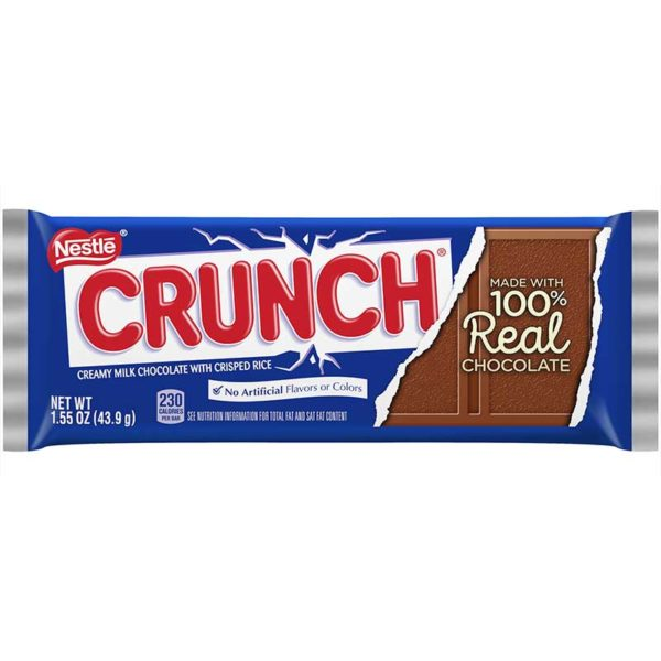 Chocolate Nestlé Crunch, 1.55 oz OFERTA (2 x 3)
