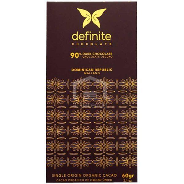 Chocolate Oscuro Mallano al 90%, 60 g