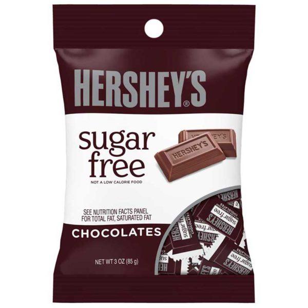 Chocolates con Leche Hershey's Sugar Free, 3 oz
