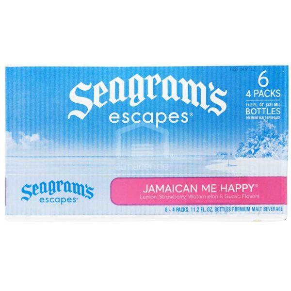 Cóctel Seagram's Escapes Jamaican Me Happy, 11.2 oz