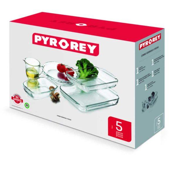 Combo para Hornear PYR-O-REY (5 piezas)