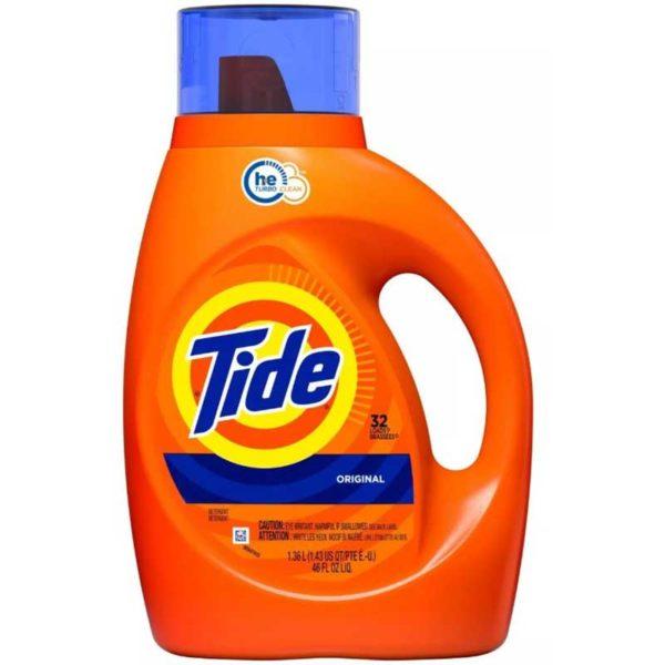 Detergente Líquido Tide Original, 46 oz