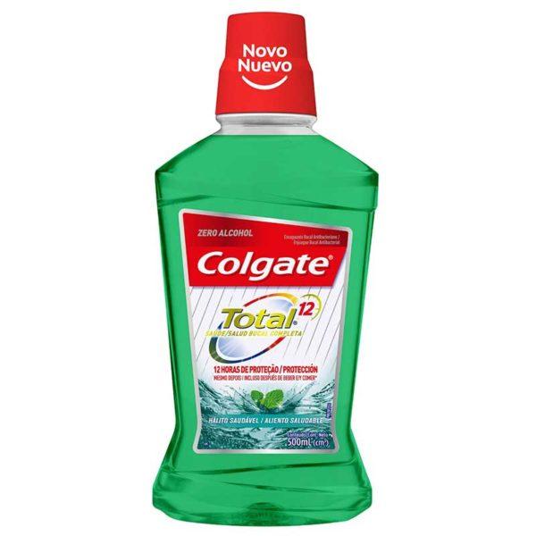 Enjuague Bucal Colgate Total 12 Aliento Saludable, 500 ml