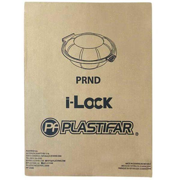 Envase i-Lock 18322 Transparante Plastifar PRND12, 12 oz Caja (240 uds)
