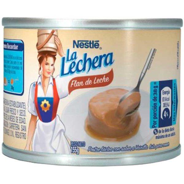 Flan de Leche Nestlé La Lechera, 155 g