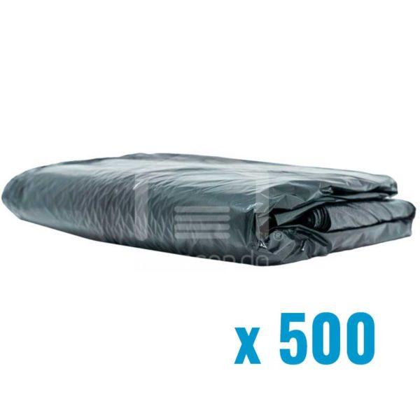 Fundas Plásticas Negras de 30 gls (500 uds)