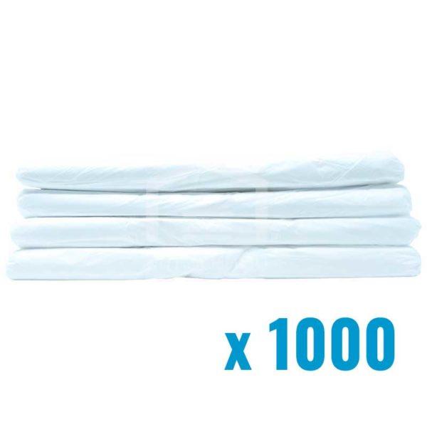 Fundas Plásticas Blancas Tshirt #51, (1000 uds)