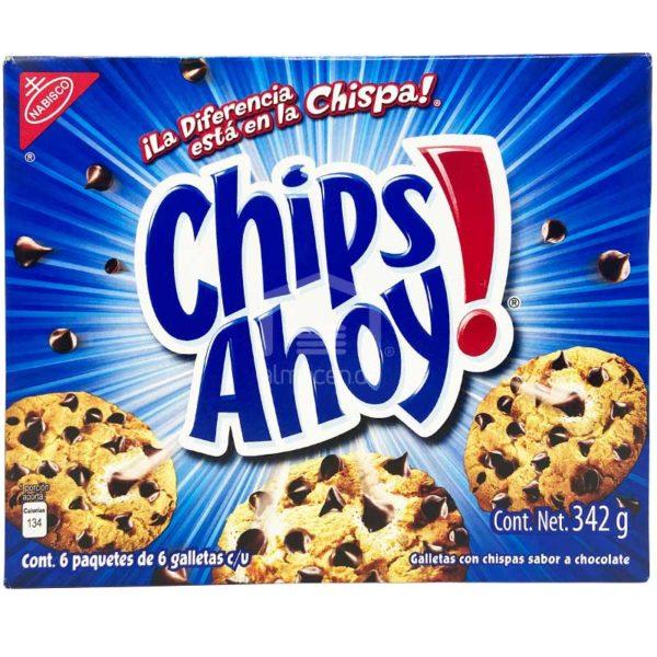 Galleta Chips Ahoy! Sabor Chocolate, 6 uds