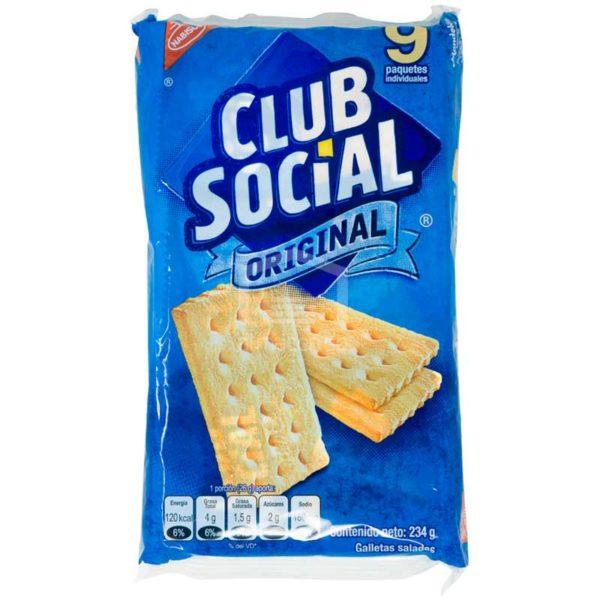 Galleta Club Social Original, 234 g (9 uds)