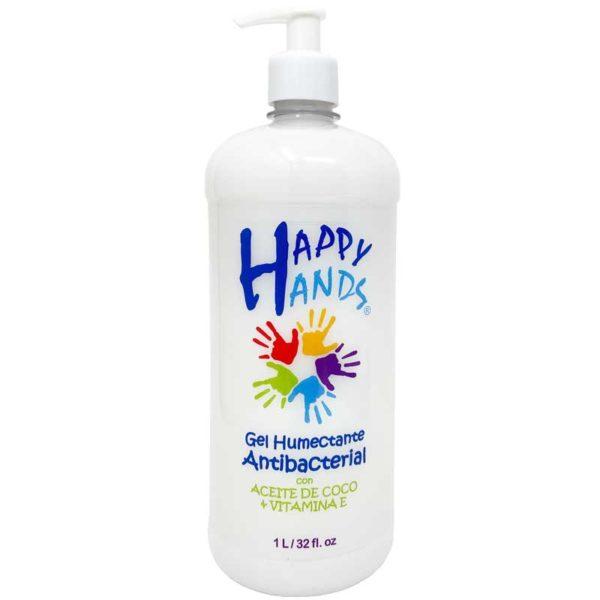 Gel Humectante Antibacterial para Manos Happy Hands