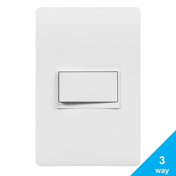 Interruptor Simple Para 3-way c/ Luz Piloto Bticino LUZICA, 15 Amp