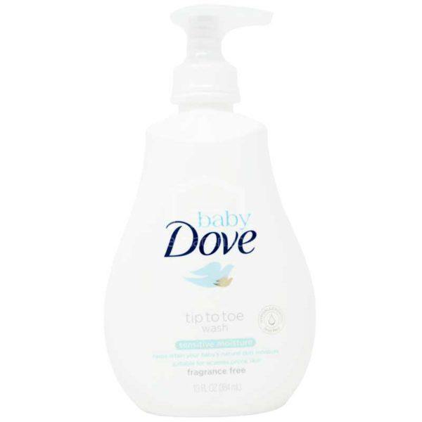 Jabón Líquido Dove Baby Humectación Sensible, 13 oz
