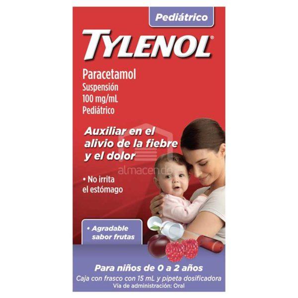 Jarabe Tylenol Parecetamol Solucion Gotas, 15 ml
