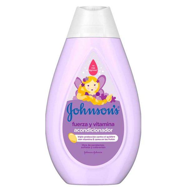 Johnson's Baby Acondicionador Fuerza y Vitamina, 200 ml