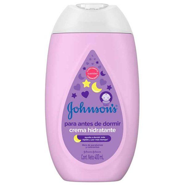 Johnson's Baby Crema Hidratante Para Antes de Dormir, 400 ml