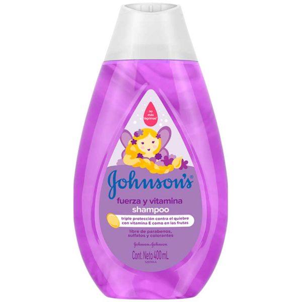 Johnson's Baby Shampoo Fuerza y Vitamina, 400 ml