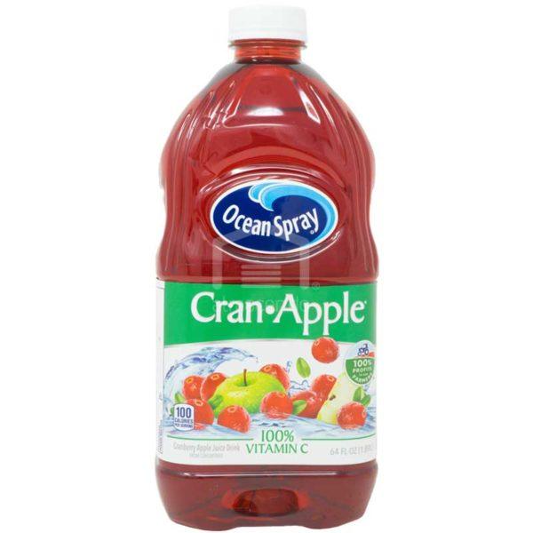 Jugo Ocean Spray Cranberry & Manzana, 64oz