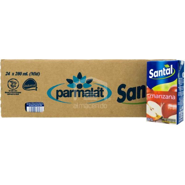 Jugo Santal Sabor Manzana, 200ml Caja (24 uds)