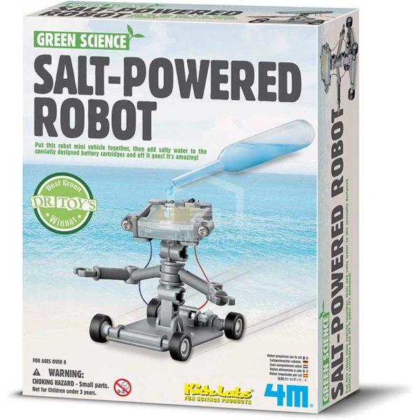 KidzLabs Robot Impulsado por Agua Salada