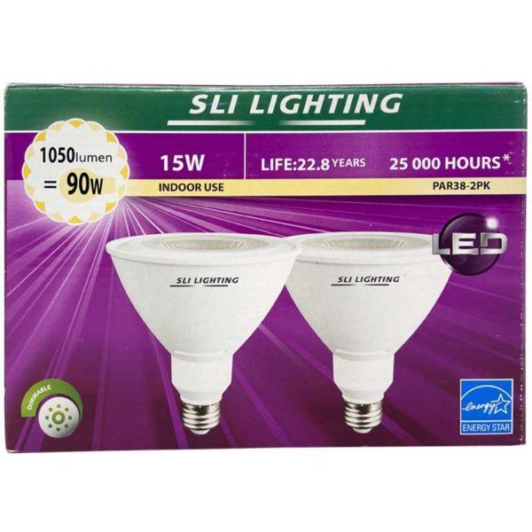 Lámpara LED para Interiores 15 W 3000 K (2 uds)