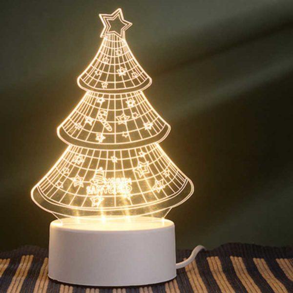 Lámpara 3D LED 4 W Arbolito