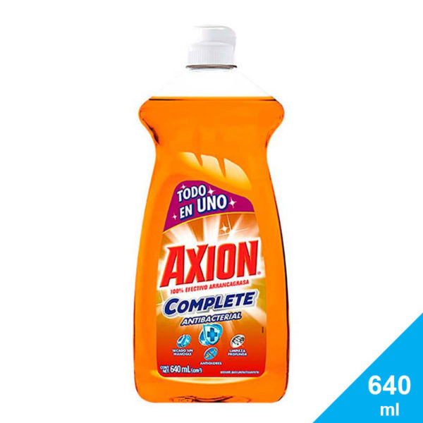 Lavaplatos Axion Complete Antibacterial, 640 ml