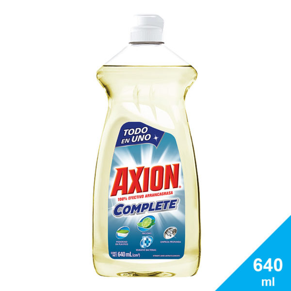 Lavaplatos Axion Complete Tricloro, 640 ml