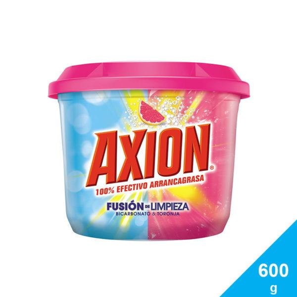 Lavaplatos Axion Fusión de Limpieza Bicarbonato & Toronja Pasta, 600 g
