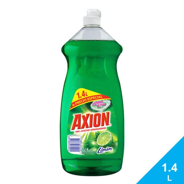 Lavaplatos Axion Limón, 1.4 L