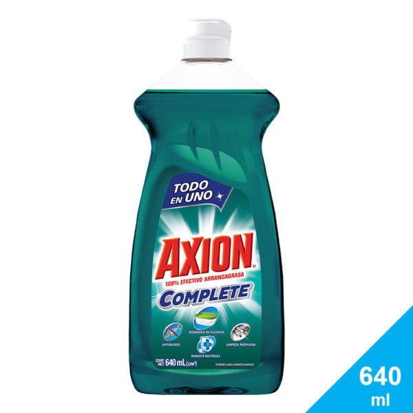 Lavaplatos Axion Complete Poderoso en Plastico, 640 ml
