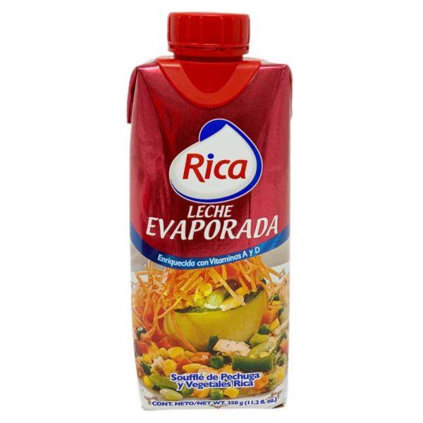 Leche Evaporada Rica, 11.2 oz