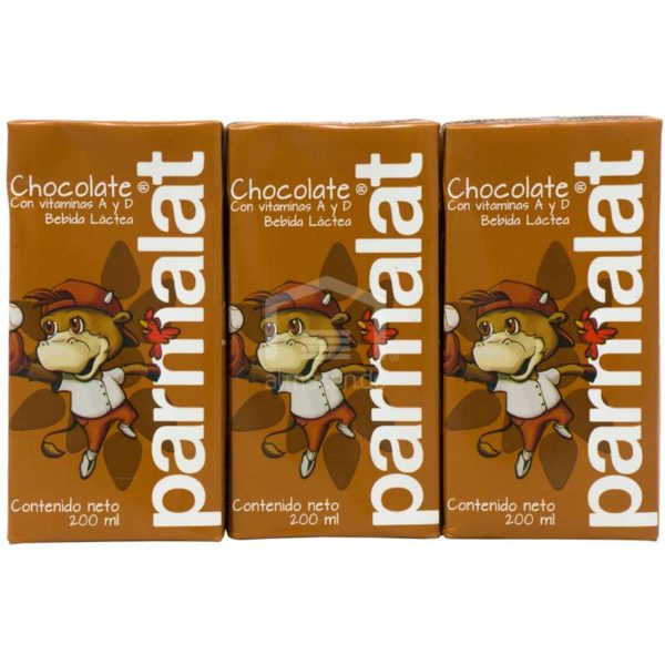 Leche Sabor Chocolate Parmalat, 200 ml (6 Pack)