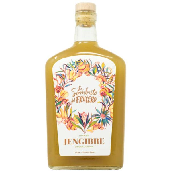 Licor de Ron con Jengibre La Sombrita del Frutero, 750 ml