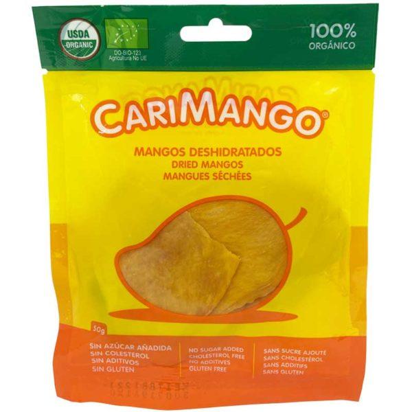 Mangos Deshidratados CariFrutas Lonjas, 50 g