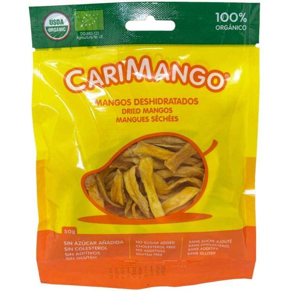 Mangos Deshidratados CariFrutas Tiras, 50 g