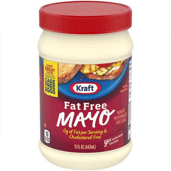 Mayonesa Kraft Libre de Grasas, 15 oz