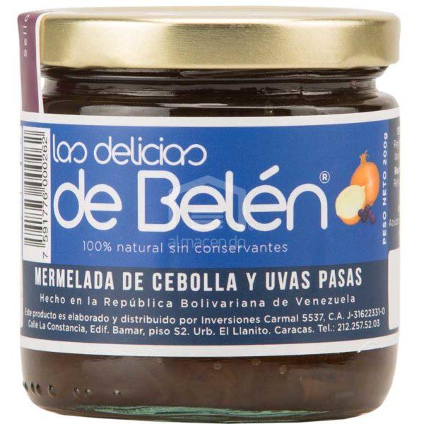 Mermelada de Cebolla y Uvas Pasas Las Delicias de Belén, 200 g