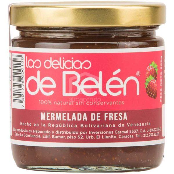 Mermelada de Fresa Las Delicias de Belén, 200g