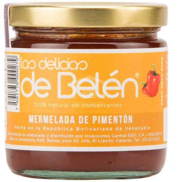 Mermelada de Pimentón Las Delicias de Belén, Caja (12 x 200g)