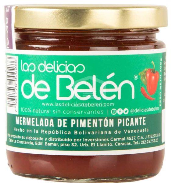 Mermelada de Pimentón Picante Las Delicias de Belén, 200 g