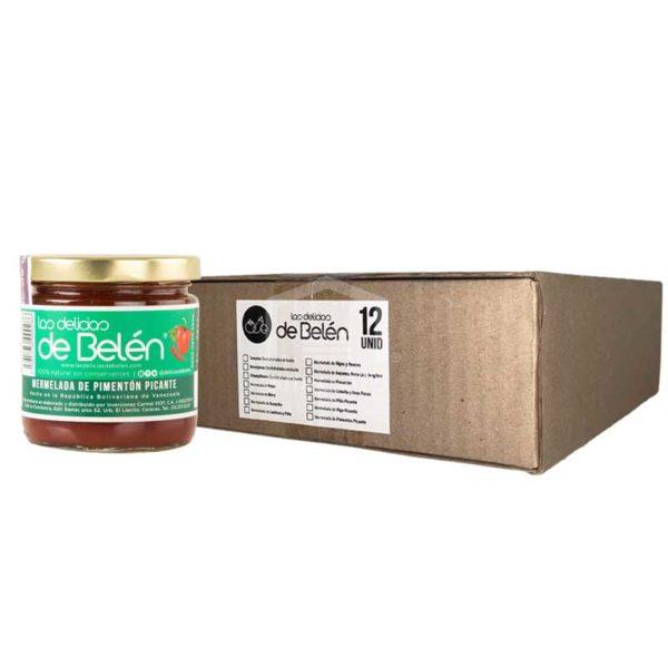 Mermelada de Pimentón Picante Las Delicias de Belén, Caja (12 x 200g)