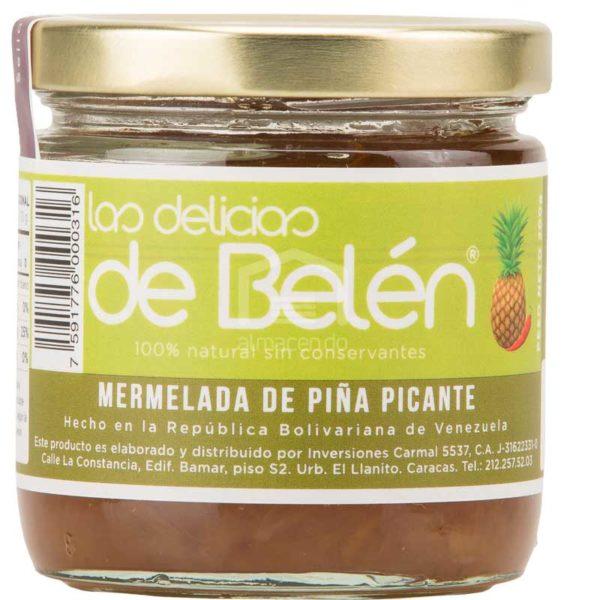 Mermelada de Piña Picante Las Delicias de Belén, 200 g