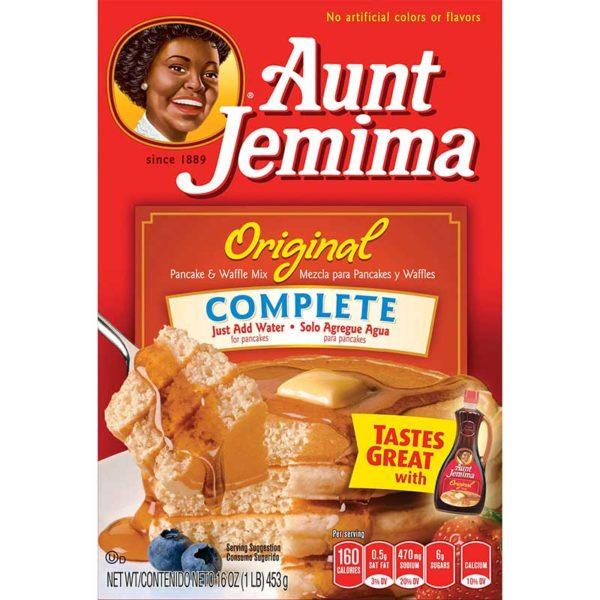 Mezcla Completa  para Pancake y Waffle Aunt Jemima, 16 oz